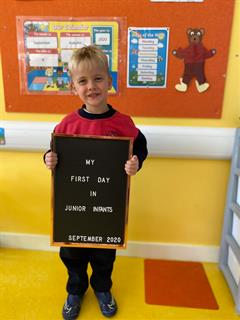 Our First Day in Junior Infants