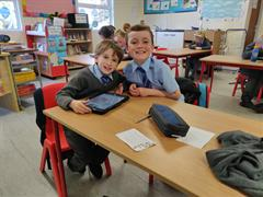 Having fun with iPads!