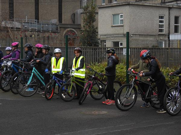 Cycle Training for All - first day outside