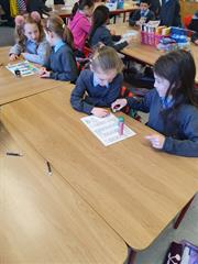 Maths games in Second Class
