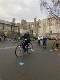 Cycle Training for All - Second day outside