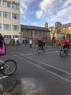 Cycle Training for All - Third day outside