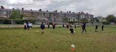 After School Soccer training with Third Class!