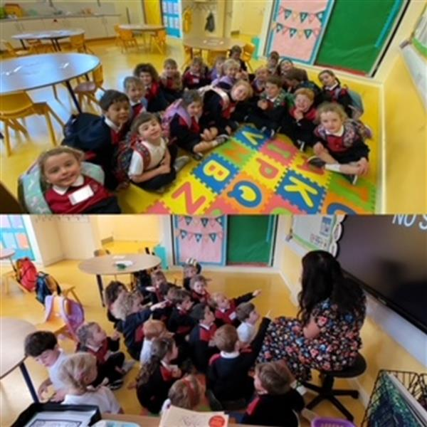 Our first week in Junior Infants!